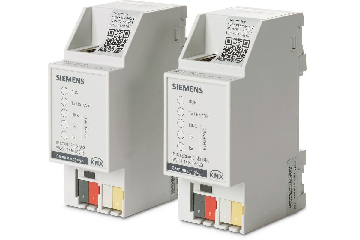 Siemens KNX IP Secure